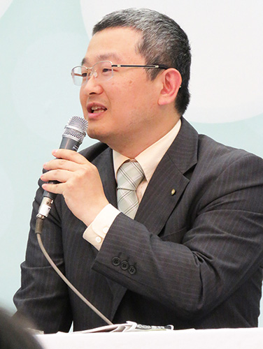 岸本智弘・公衆衛生部理事