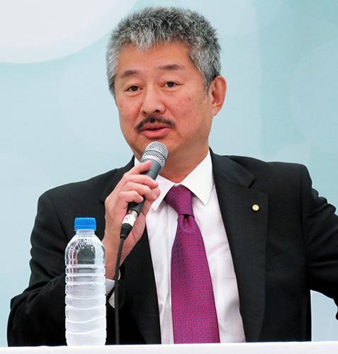 安岡良介会長